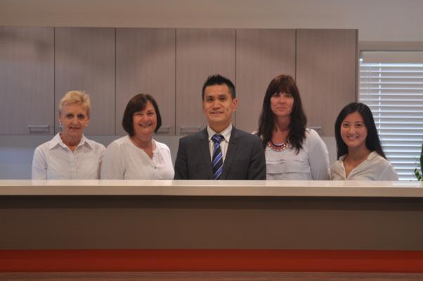 Dr Louie-Johnsun's team